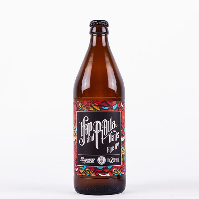 Hop 'N' Rolla Rye IPA